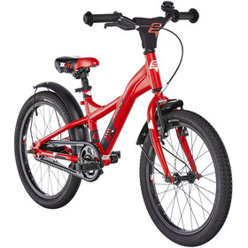 s'cool XXlite 18 alloy red/black matt